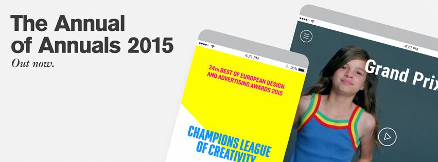 Los 431 mejores trabajos publicitarios y de diseño gráfico en Annual of Annuals #24
