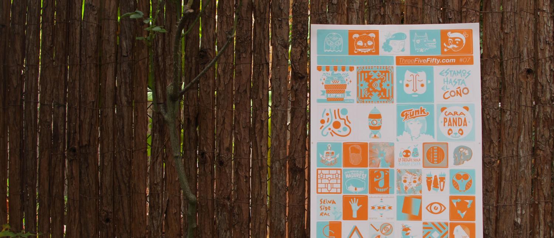 ThreeFiveFifty, predicciones de futuro en forma de stickers