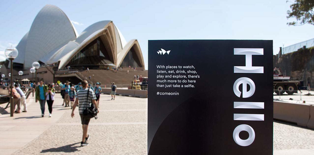 La nueva identidad de la Ópera de Sydney da el do de pecho