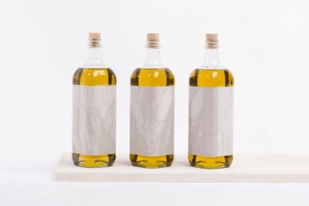 La textura de un tronco de olivo gracias a la tinta puff