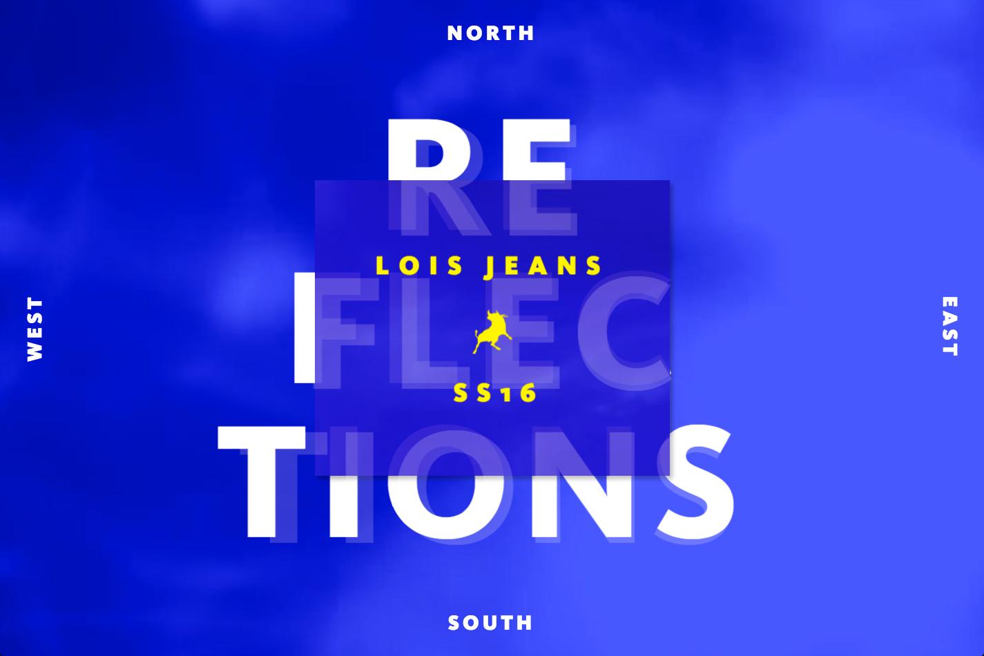 Nectar Estudio experimenta de nuevo con la web de Lois Jeans