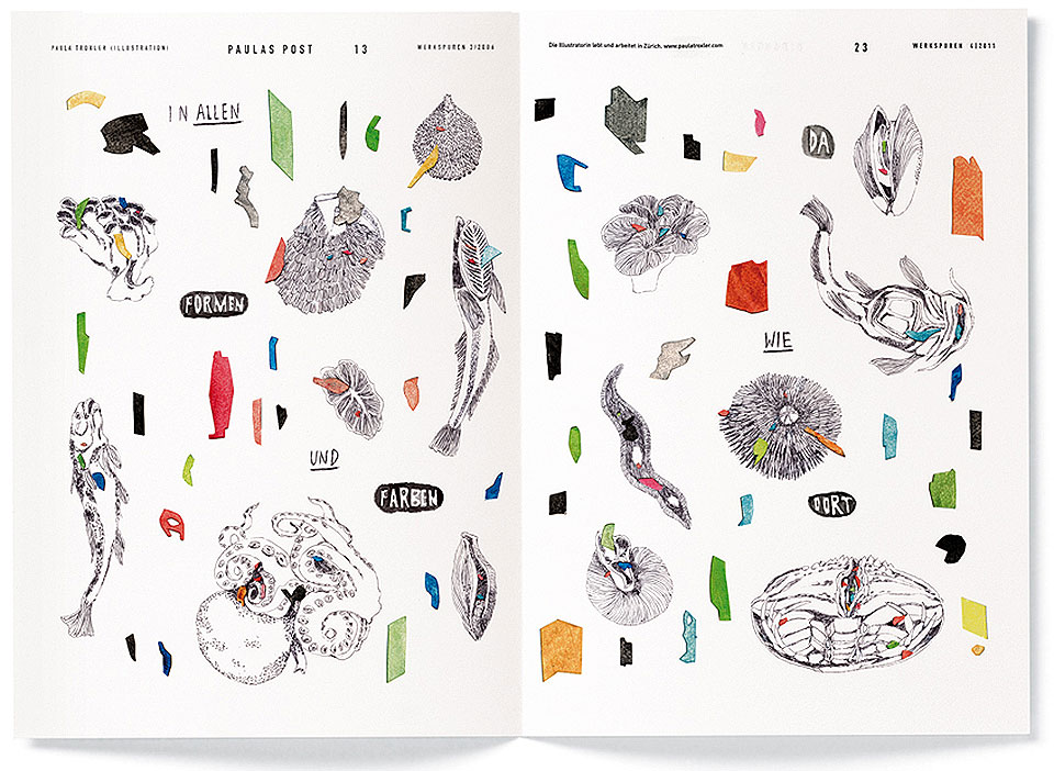 20 ilustradoras que no puedes dejar de conocer - Paula Troxler
