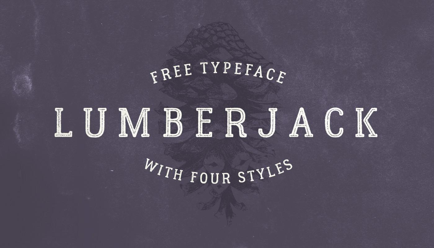 La texturada y gratuita Lumberjack