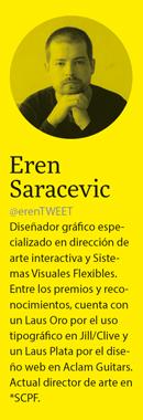 Eren Saracevic: «Ser freelance es como ir en moto acuática, en agencia viajas en un barco grande»