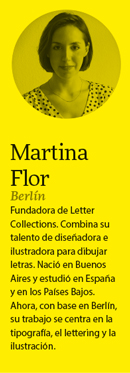 Martina Flor: «El creativo del futuro tendrá que lidiar con la saturación de estímulos visuales»