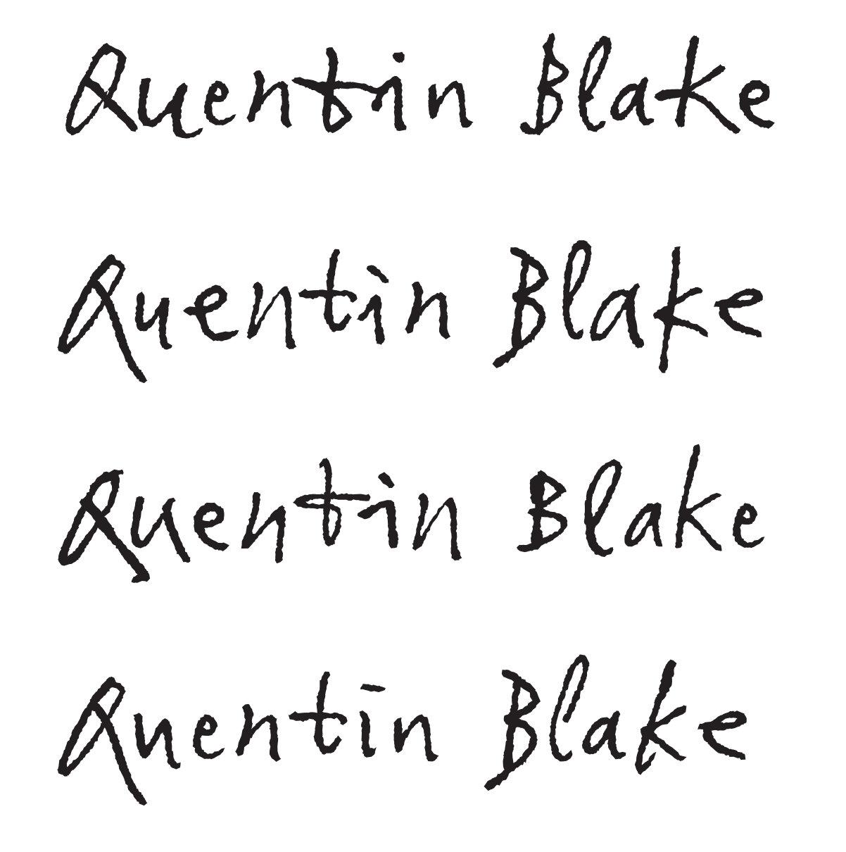La historia de cuando Quentin Blake y Monotype casi 'mataron' la escritura manual