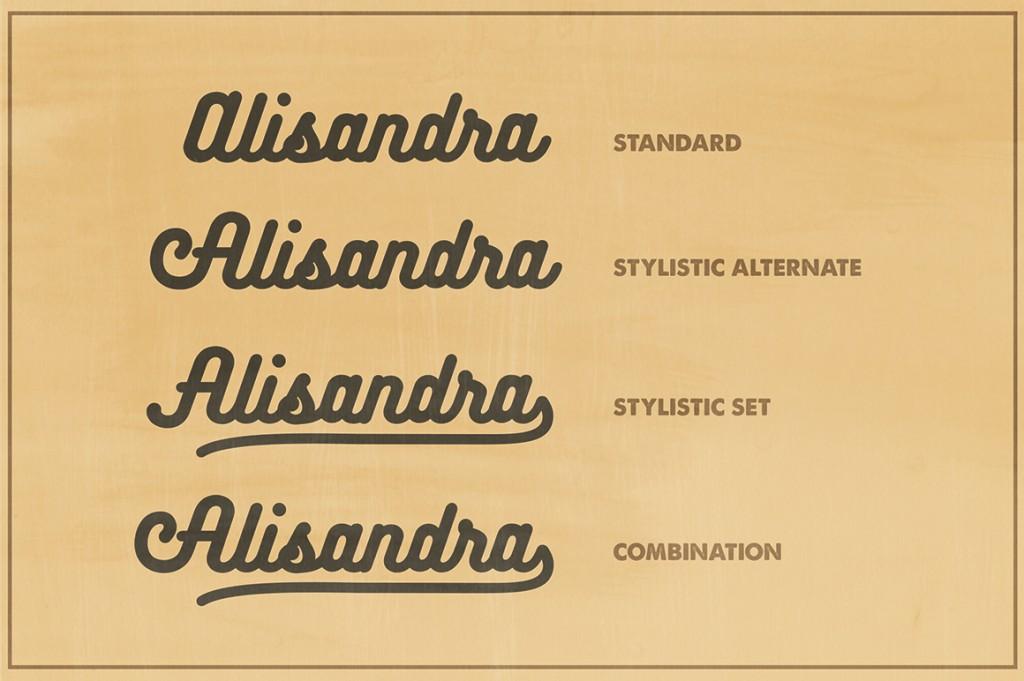 Bukhari Script, la amable tipografía monolínea y gratuita