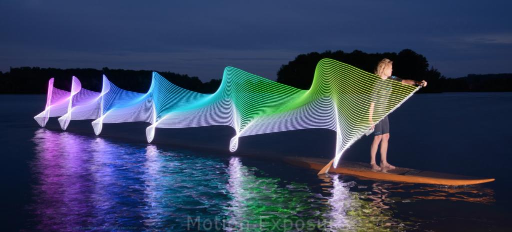 Motion Exposure, fotografías que muestran cómo baila la música