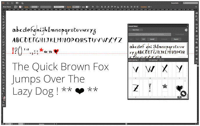 Fontself Maker, el software para crear tipografías a partir de lettering ya está disponible