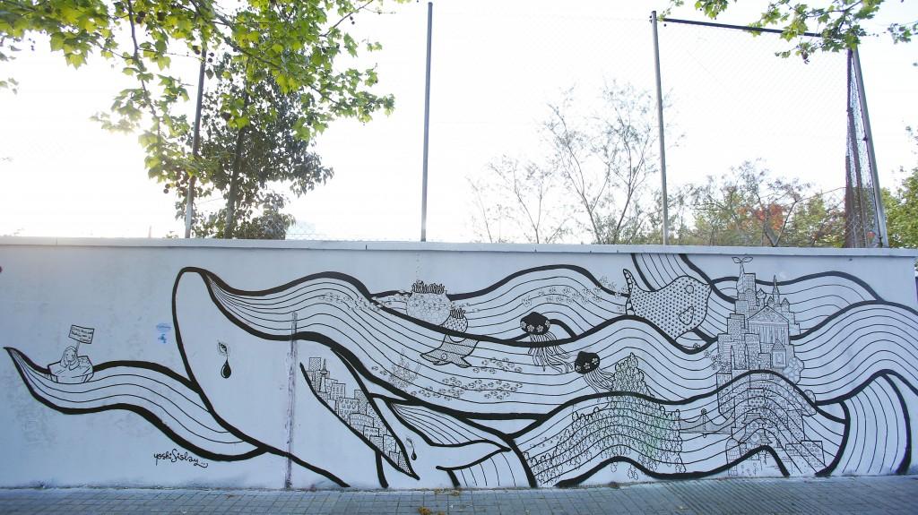 EL Ártico invade las calles en forma de Street art