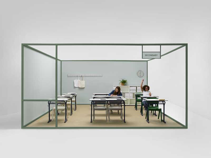 Odosdesign rediseña la vuelta a las aulas de la centenaria firma Federico Giner