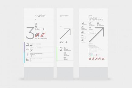 El diseño gráfico que nos guía. Señalética, por Estudio Mique