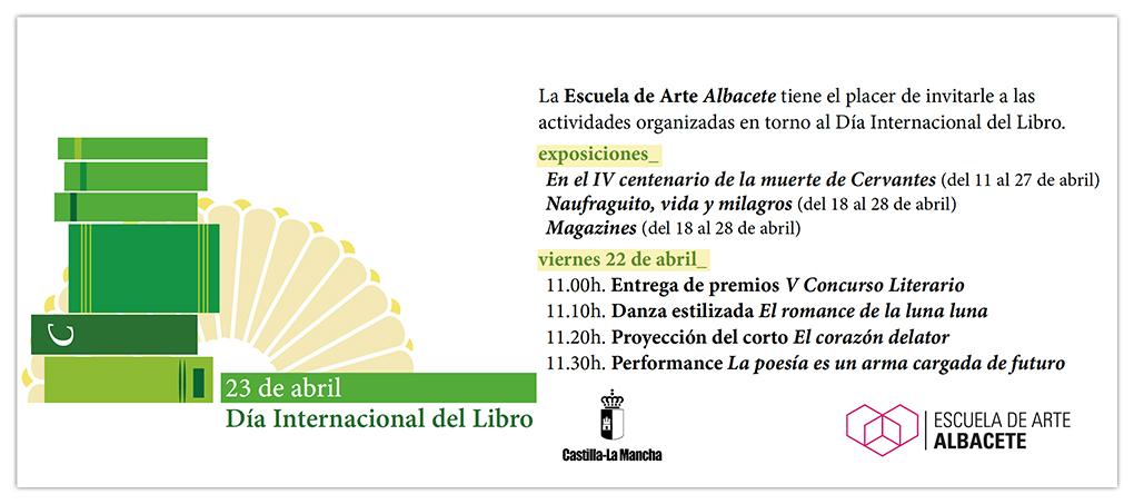 La EAA organiza actividades con motivo del Día Internacional del Libro 2016