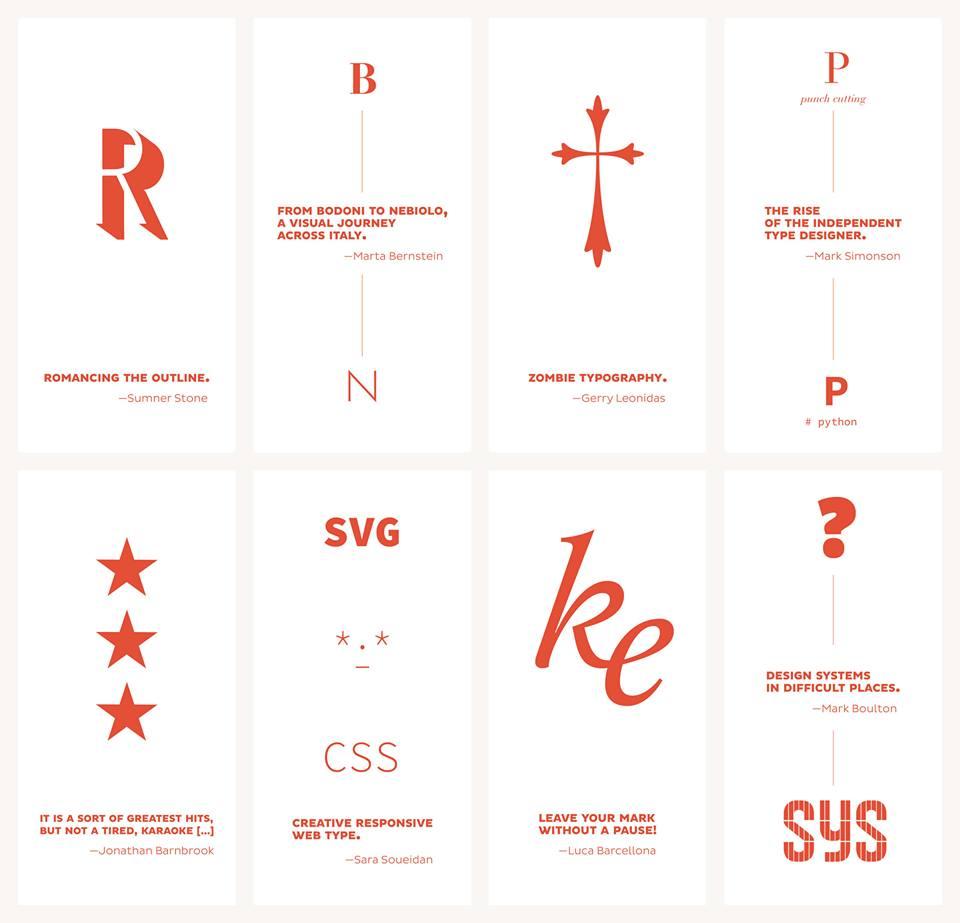 Kerning 2016, llega una nueva edición del festival tipográfico italiano