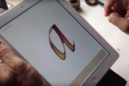 Scriptorium, la app para aprender caligrafía itálica de la mano de Esther Gordo