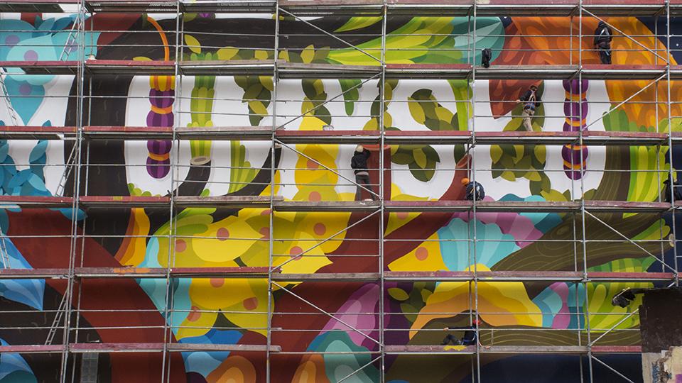 'La vida es un estado mental', homenaje que salta de la literatura al mural