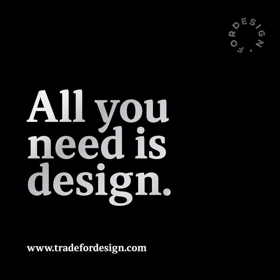 ¿Qué estarías dispuesto hacer por diseñar?