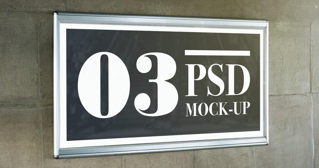 Mock up de publicidad exterior de descarga gratuita - 4