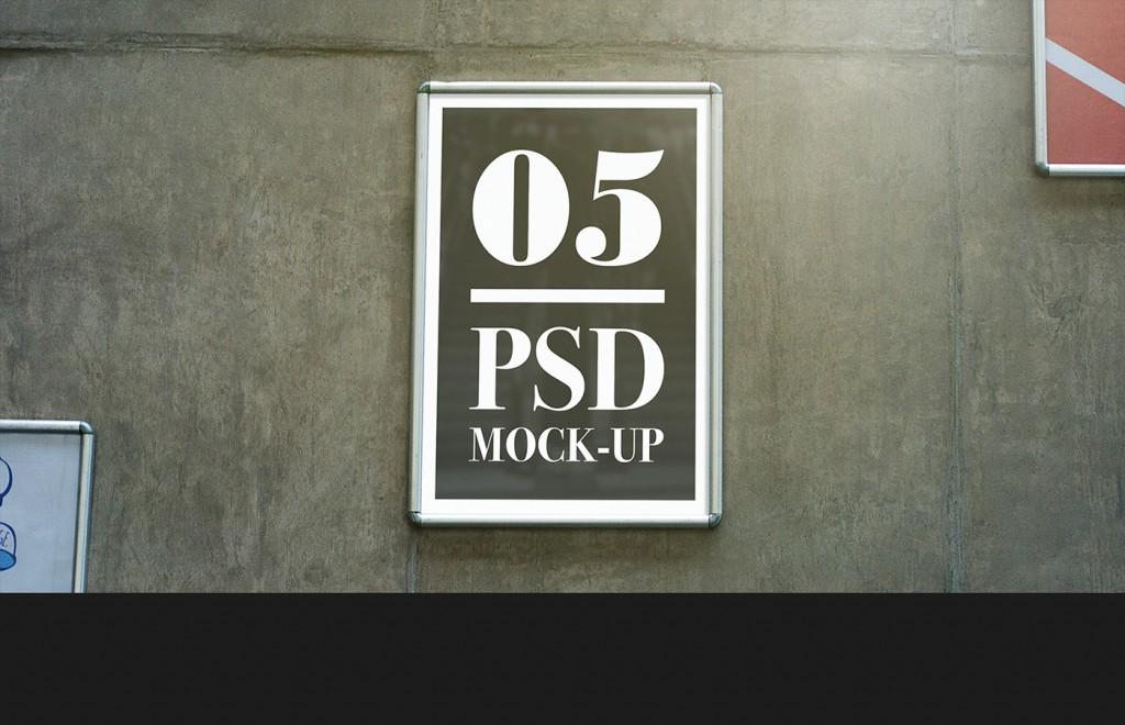 Mock up de publicidad exterior de descarga gratuita - 2