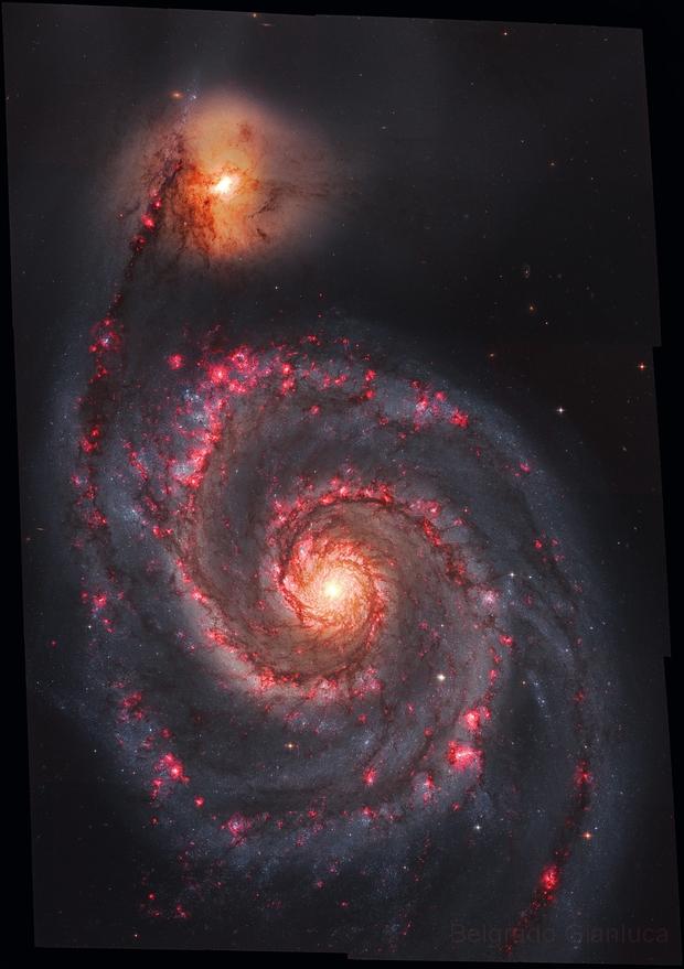M51 (Hubble Legacy Archive ) HaRGB