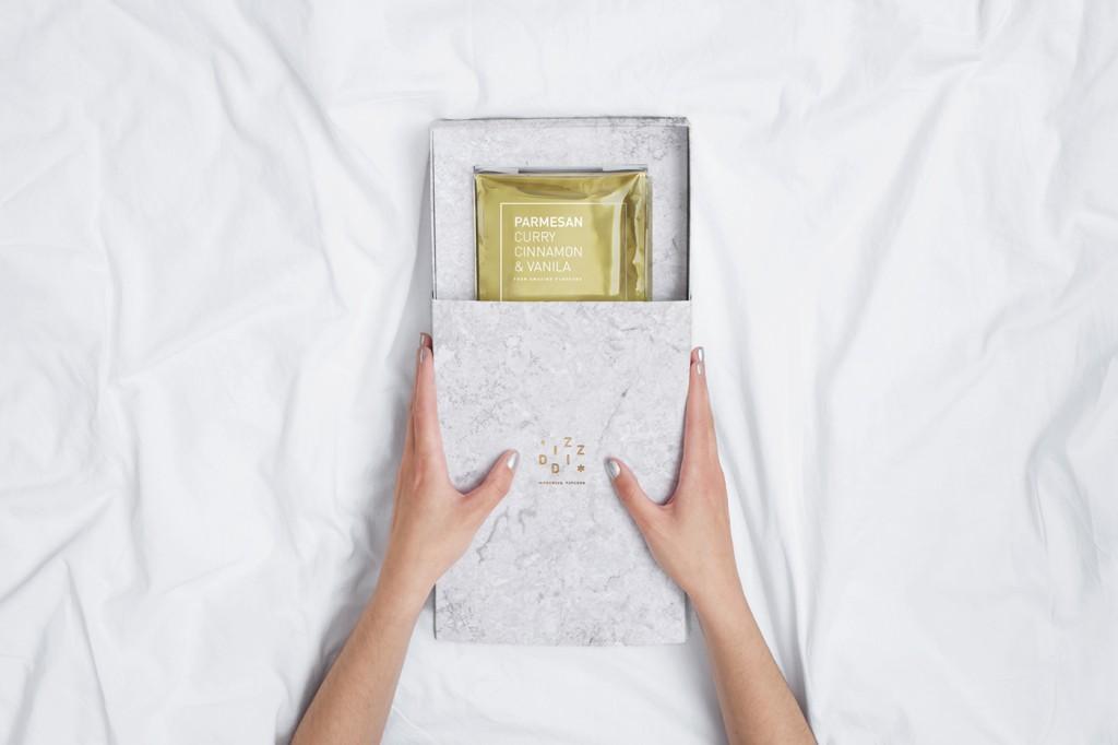 packaging medio abierto de Diz-Diz