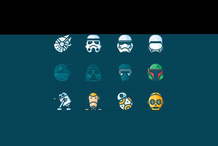 ¡Feliz Día de Star Wars! Lo celebramos con iconos gratis de la saga