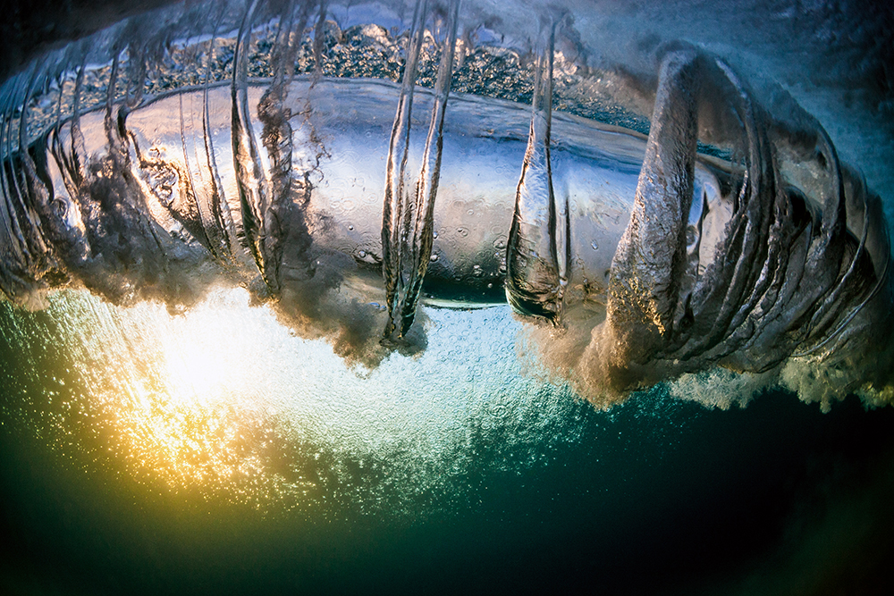 Warren Keelan fotografía ola océano