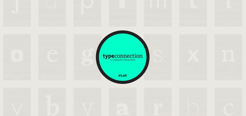 El Tinder de las tipografías: Type Connection