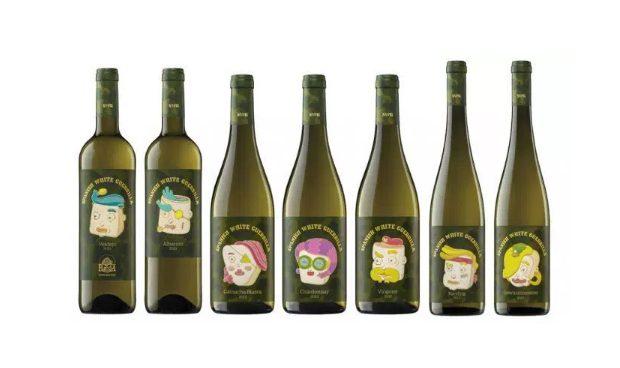 La colección Spanish Wine Guerrilla para Vintae era una gama completa de blancos. Por Brosmind