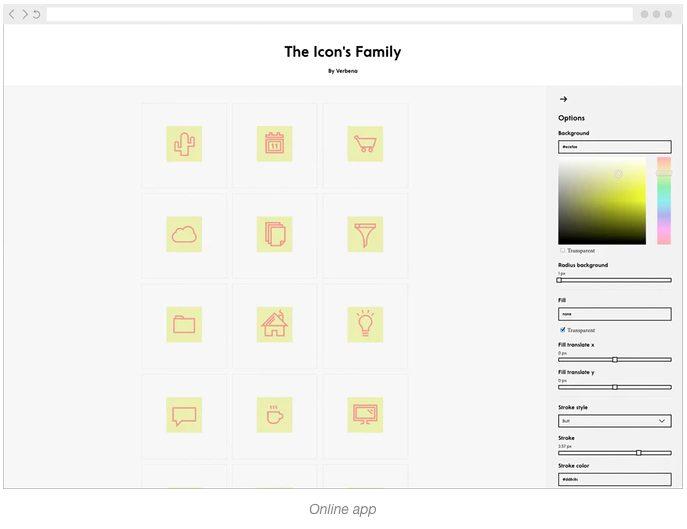 The Icon's Family, la app para personalizar iconos en segundos
