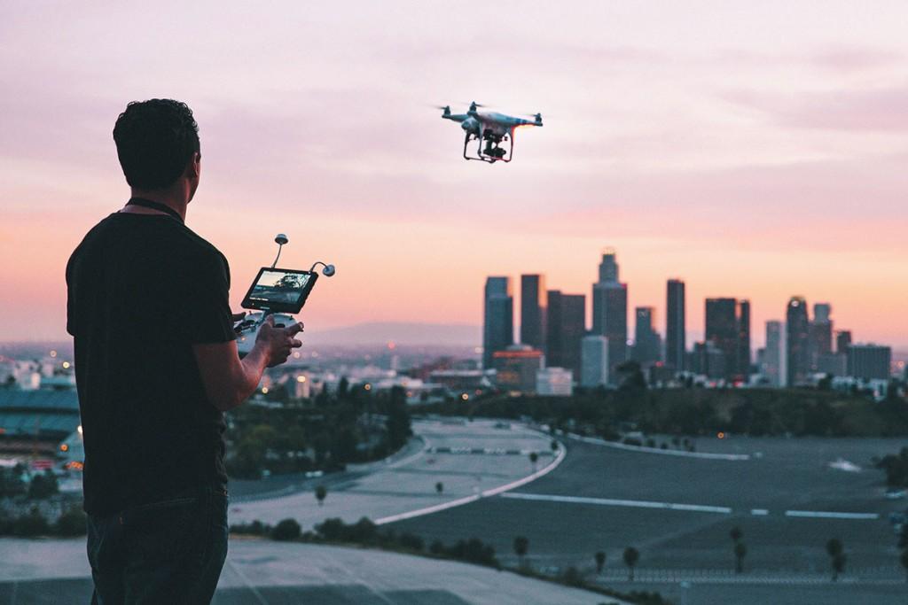 Dirk Dallas y sus fotografías realizadas desde un dron