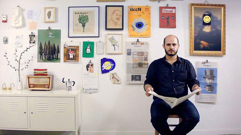 Javier Jaén: «En EEUU no contratan a un ilustrador para que haga 'una cosa bonita'; quieren a alguien que piense»