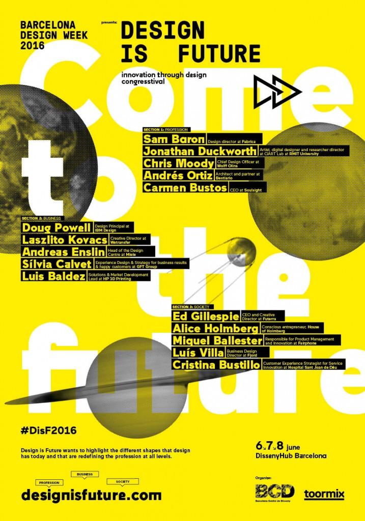 Vuelve el 'Design is Future congresstival'