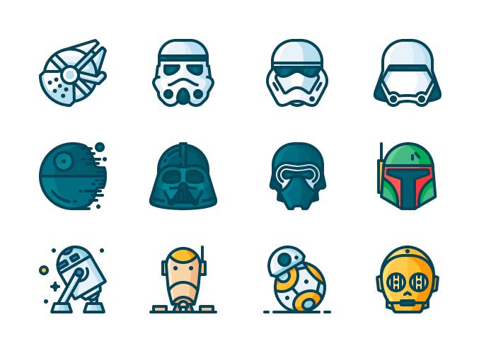feliz d a de star wars lo celebramos con iconos gratis