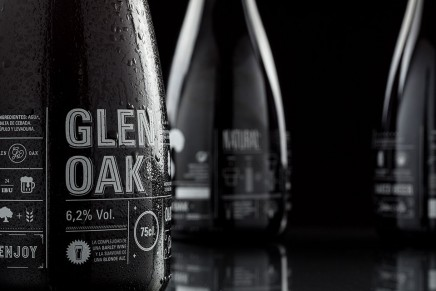 Diseño de etiqueta de cerveza gourmet para Oak Master