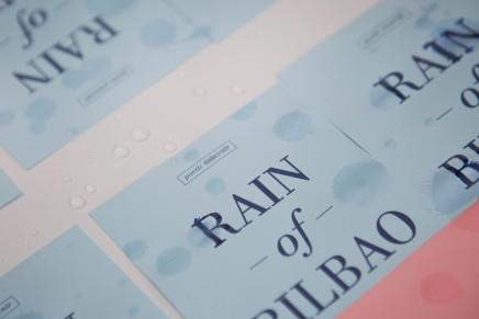 Rain of Bilbao, un souvenir poético