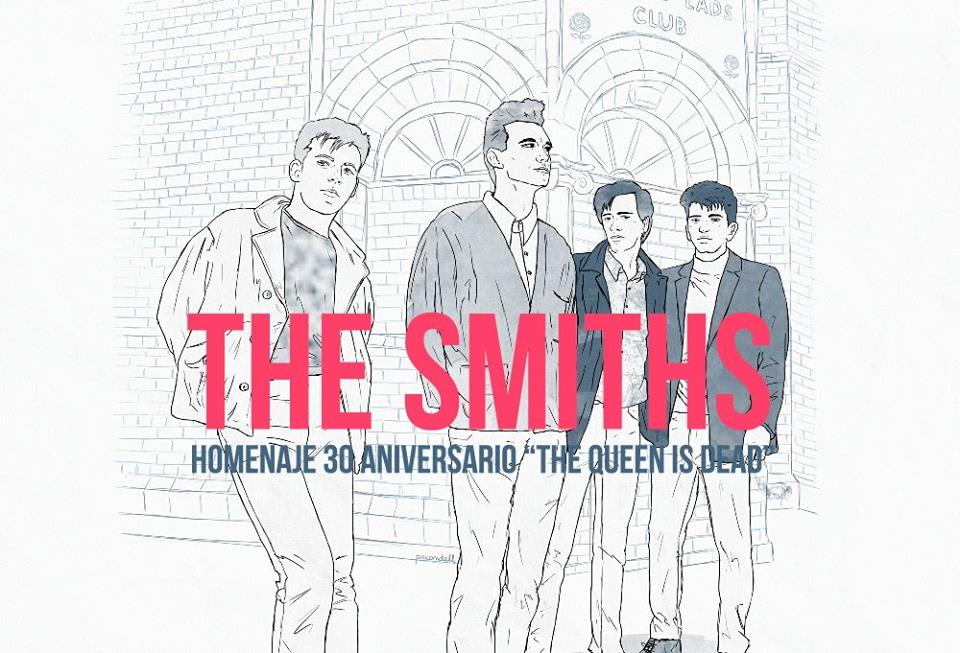 Tributo a The Smiths en la expo del 30 aniversario de The Queen is Dead