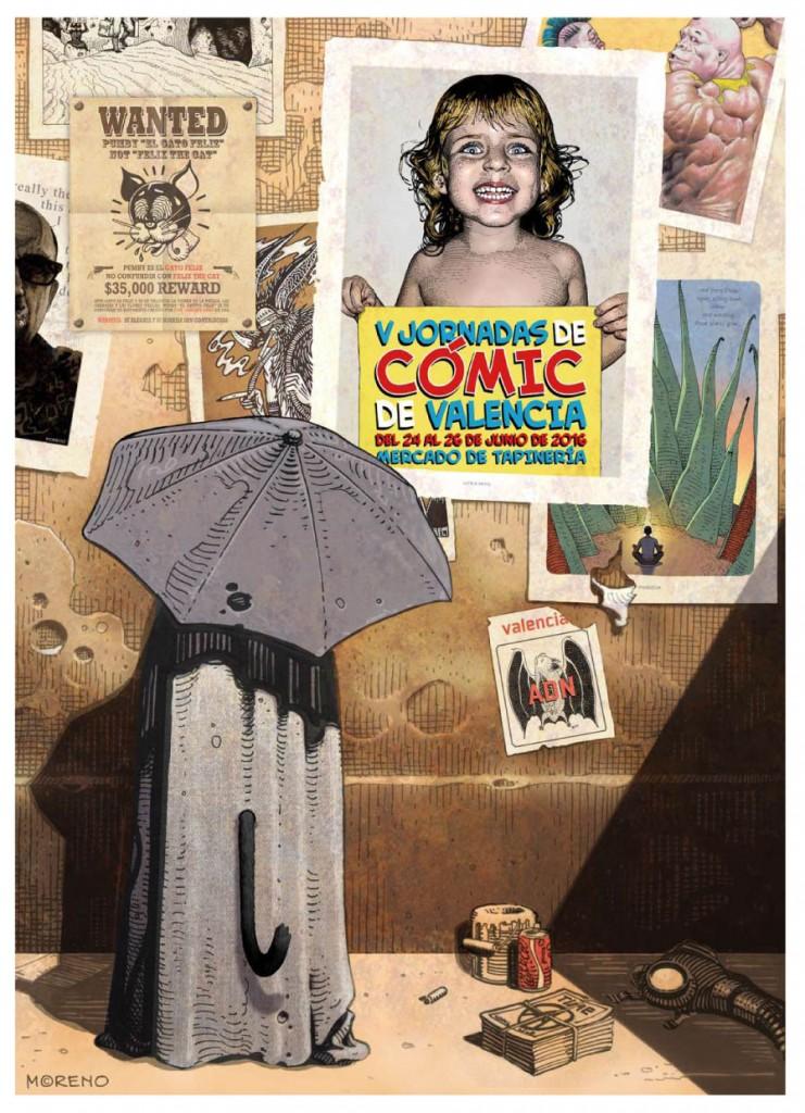 V Jornadas del Cómic de Valencia