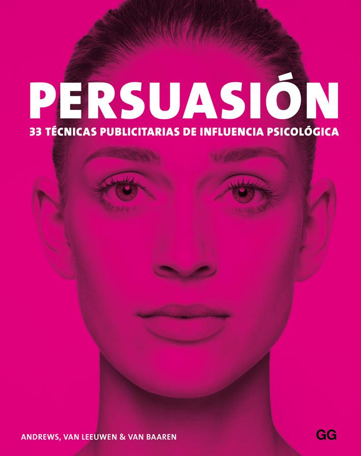 Portada de Persuasión. 33 técnicas publicitarias de influencia psicológica