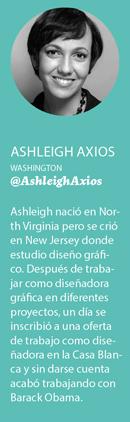 Ashleigh Axios: «Ganaba más dinero antes de entrar en la Casa Blanca»