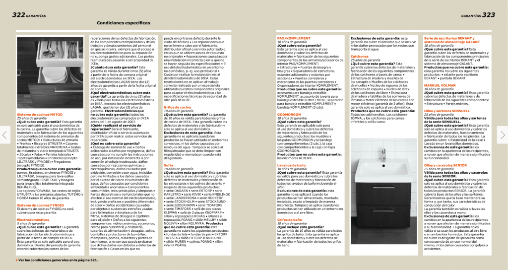 El 'efecto vampiro' en el catálogo - programa electoral de Podemos - catálogo Ikea 2