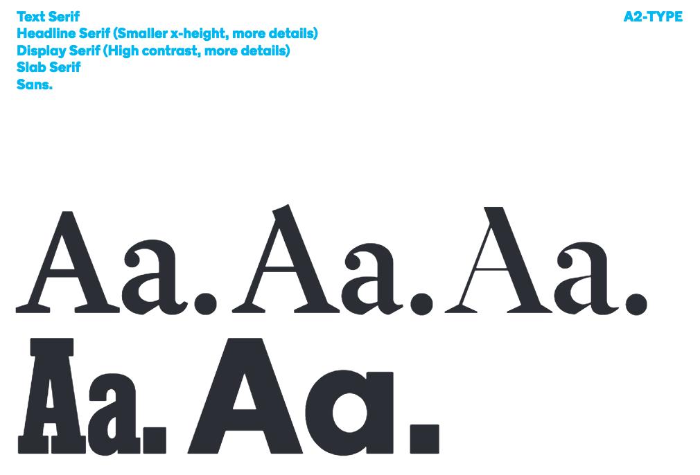 NYTMag Sans, tipografía para The New York Times Magazine.