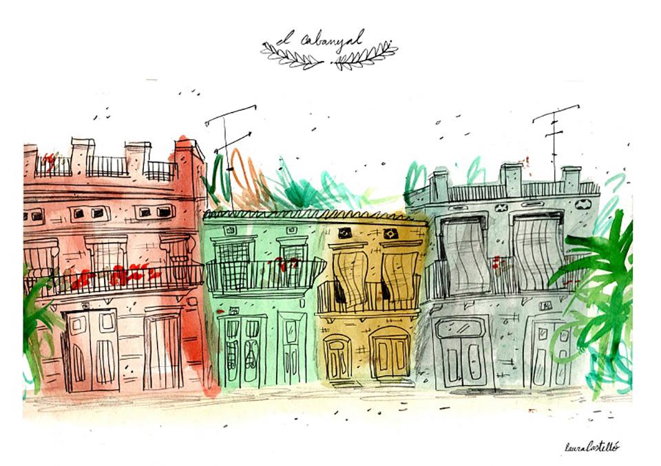 'Valencia Se Ilustra', la ciudad a ojos de los ilustradores - Laura Castelló