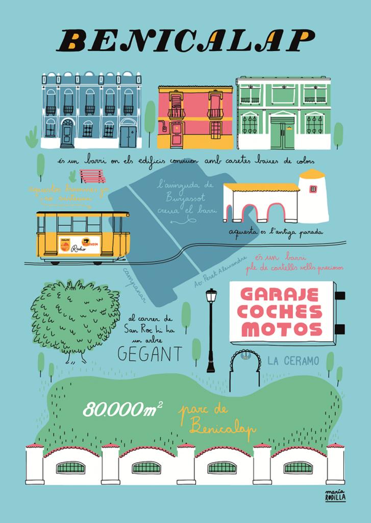 'Valencia Se Ilustra', la ciudad a ojos de los ilustradores - María Rodilla