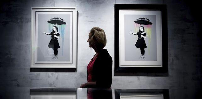 exposición Banksy Roma 150 obras