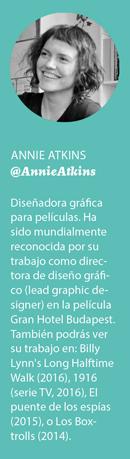 Annie Atkins Perfil