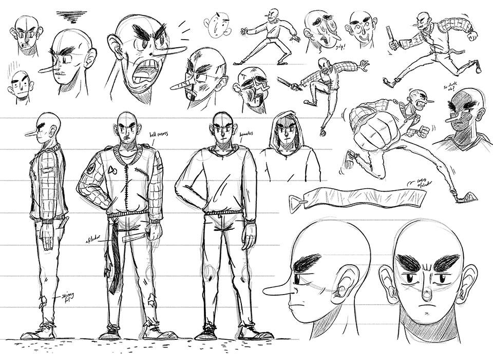 El nuevo modo de leer cómics: HAIR Comic en Instagram - concepto hombre