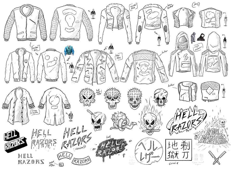 El nuevo modo de leer cómics: HAIR Comic en Instagram - concepto chaquetas