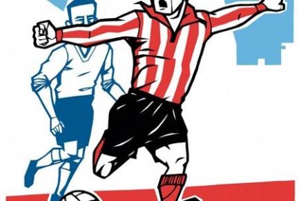 Las ilustraciones de Lawerta para despertar el amor por el fútbol en los no futboleros