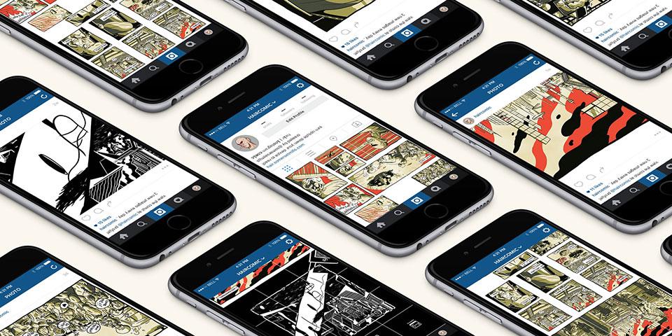 El nuevo modo de leer cómics: HAIR Comic en Instagram - en dispositivos móviles